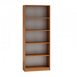 Bücherregal Regal Holzregal Standregal Wandregal Büroregal 182x60cm weiß