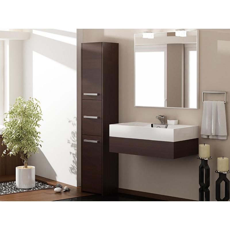 badschrank 3 türen badezimmerschrank hochschrank badmöbel