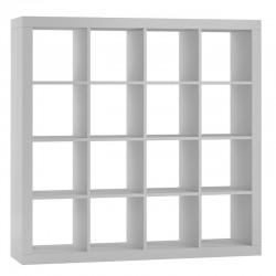 Modernes Bücherregal Regalsystem Regal Raumteiler Wandregal Weiß
