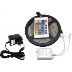 LED RGB Wasserdicht Lichterschlauch Lichterkette Lichtleiste Party mit Fernbedienung