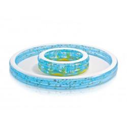 SCHWIMMBAD 185x180x53 SOFT DAY INTEX 56495 baby pool swiming
