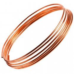 Kupferrohr Ring weich WASSER ÖL GAS HEIZUNG ÖLLEITUNG WASSERLEITUNG GASLEITUNG Ø4x0,9- 1m Länge