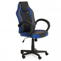 Bürostuhl Chefsessel Sportsitz Racing Stuhl Drehstuhl Schreibtischstuhl schwarz / rot