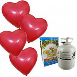 Helium Ballongas für 50 Luftballons 0,43m3