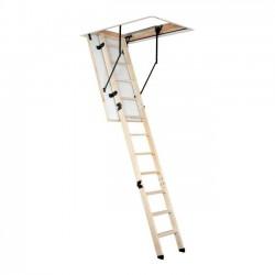 Gedämmte Bodentreppe Dachbodentreppe Speichertreppe Dachtreppe Holztreppe 130x70cm