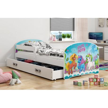 Kinderbett 160x80 Juniorbett Bett Kinderzimmer Spielbett Jugendbett Piraten