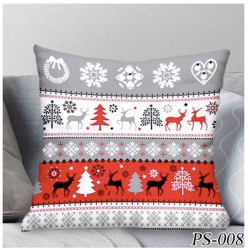 Kissenbezug 40x40 Christmas Baumwolle Winter Weihnachten Kissenhülle Deko Weihnacht Kissenhülle