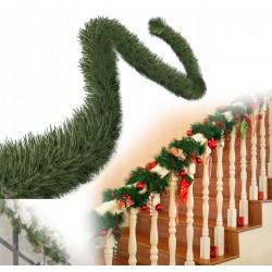 Weihnachtsbaum Künstlicher Kunstbaum Tannenbaum Christbaum Holzstamm Schnee 220cm