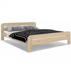 Holzbett Bett Doppel grafit Lattenrost Bettgestell MDF 90x200