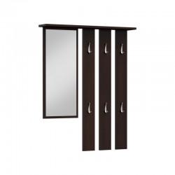 Wandgarderobe Garderobenpaneel Garderobe Spiegel Flurgarderobe weiß