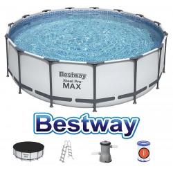 Bestway Steel Pro MAX 457 x 122cm Pool 56438 Zubehör Modell.2021