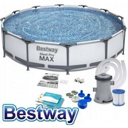 Bestway Hydrium 460x120 Pool Stahlwandpool Schwimmbecken Sandfilterpumpe 56384