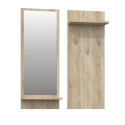 Wandgarderobe Garderobenpaneel Garderobe Spiegel Flurgarderobe Artisan