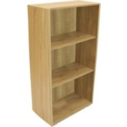 Bücherregal Standregal Regal Büroregal Holz Sonoma