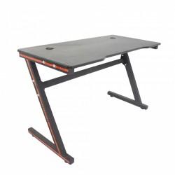 Gaming Schreibtisch Gaming Tisch Computertisch für Gamer Schwarz