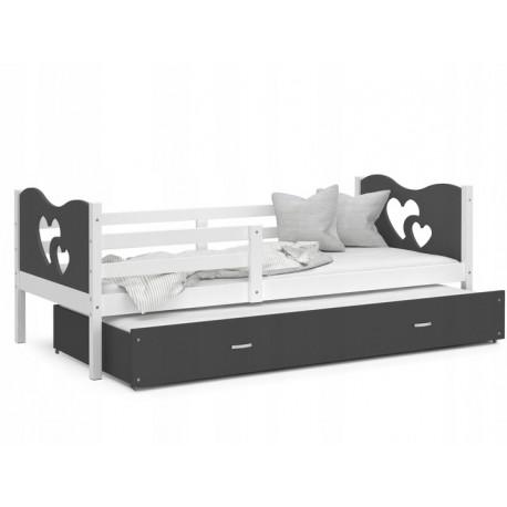 Kinderbett 160x80 Juniorbett Bett Kinderzimmer Spielbett Jugendbett tommy