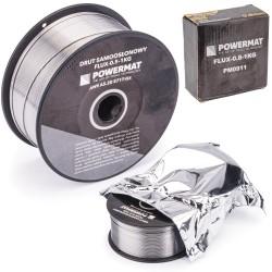 Schweißdraht mit Füllung Selbst abgeschirmt Schutzgas 0,8 mm Spule mit 1 kg