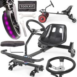 Hoverseat Go Kart Sitz Hoverkart für Self Balance Scooter Hover board Sitzscooter